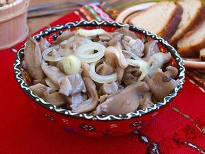 грибы вешенка маринованные рецепт