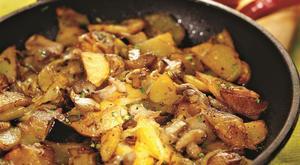 Как приготовить маслята с картошкой