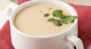 Суп с грибами опятами