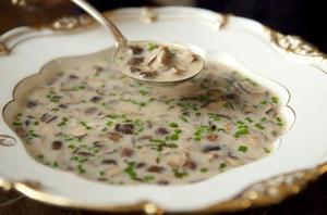 Как сварить суп с опятами