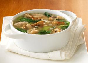 Грибной суп из поддубников