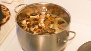 Грибы вешенки в супе