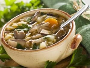 Суп из подберезовиков